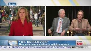dawkins krauss on cnn discuss the unbelievers