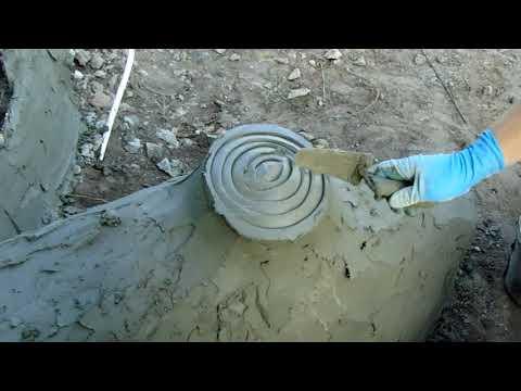 мастер  класс  как  делать  корень  дерева  в  виде  змеи  арт  бетонн