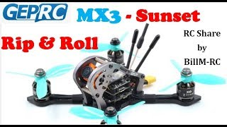 GepRC MX3 Sparrow -  Sunset Rip & Roll