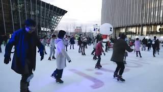 Serunya Bermain Ice Skating Saat Musim Dingin