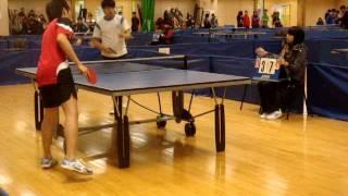 沙西學界乒乓球(東華三院對戰:邱金元中學對馮黃鳳亭中學)