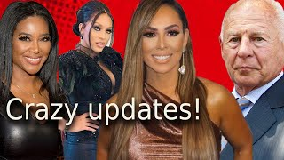 Kenya & Porsha RHOA cause tension between Drew & Letoya! Tom latest  + Kelly * Braunwyn rhoc news!