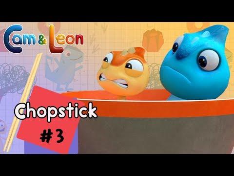 Hilarious Children Cartoon   Chopstick #3   Cam & Leon