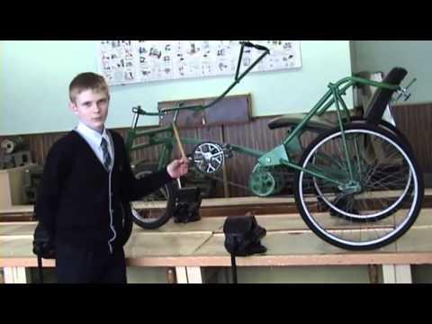 видео: Белорусские школьники... изобрели велосипед