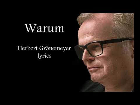 Herbert Grönemeyer - Warum(lyrics)