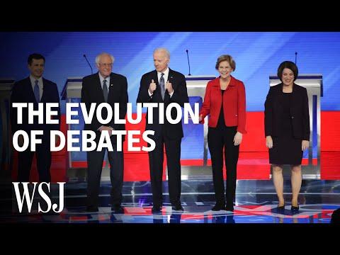 How Presidential Debates Transformed Over Time   WSJ