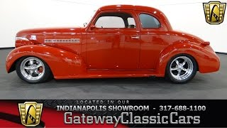1939 Chevrolet Coupe #528-ndy Gateway Classic Cars - Indianapolis