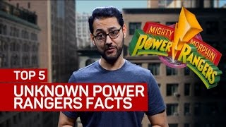 Top 5 things you didn't know about the Power Rangers
