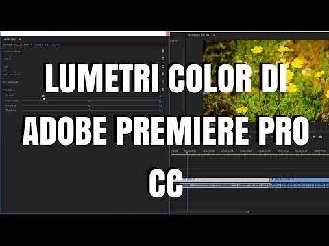 Lumetri Color di Adobe Premiere Pro CC