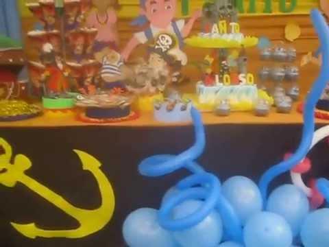 Jake y Los Piratas decoración en Arequipa - YouTube