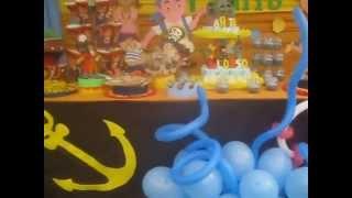 Jake y Los Piratas decoración en Arequi...