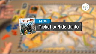 Boardgame Olympic Hungary 2018 - Ticket to Ride Europe (FINAL)