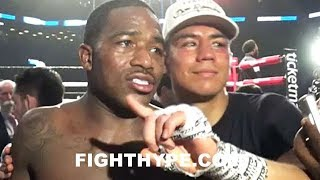 (MUST SEE) ADRIEN BRONER AND JESSIE VARGAS FULL POST-FIGHT SCRUM; DEBATE WHO WON, AGREE TO REMATCH