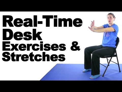 Real Time Desk Exercises & Stretches - Ask Doctor Jo