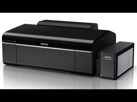 Epson ecotank l805 printer head cleaning