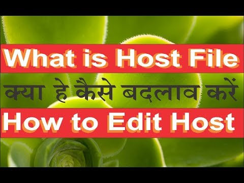 How To Edit Host File In Windows 7,8,10