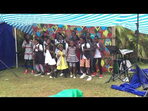 Africa Watoto Children's Choir 2017 on GLP Day! -1