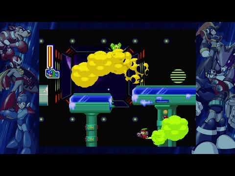 Mega Man Legacy Collection 2 - Mega Man 8 - Frost Man's Stage No Damage Buster Only |