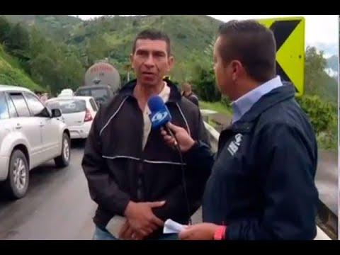 Preso pide disculpas en Televisión porque va tarde para la cárcel | Noticias Caracol
