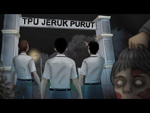Hantu Kepala Buntung TPU Jeruk Purut | Kartun Hantu Horror & Cerita Misteri - Rizky Riplay