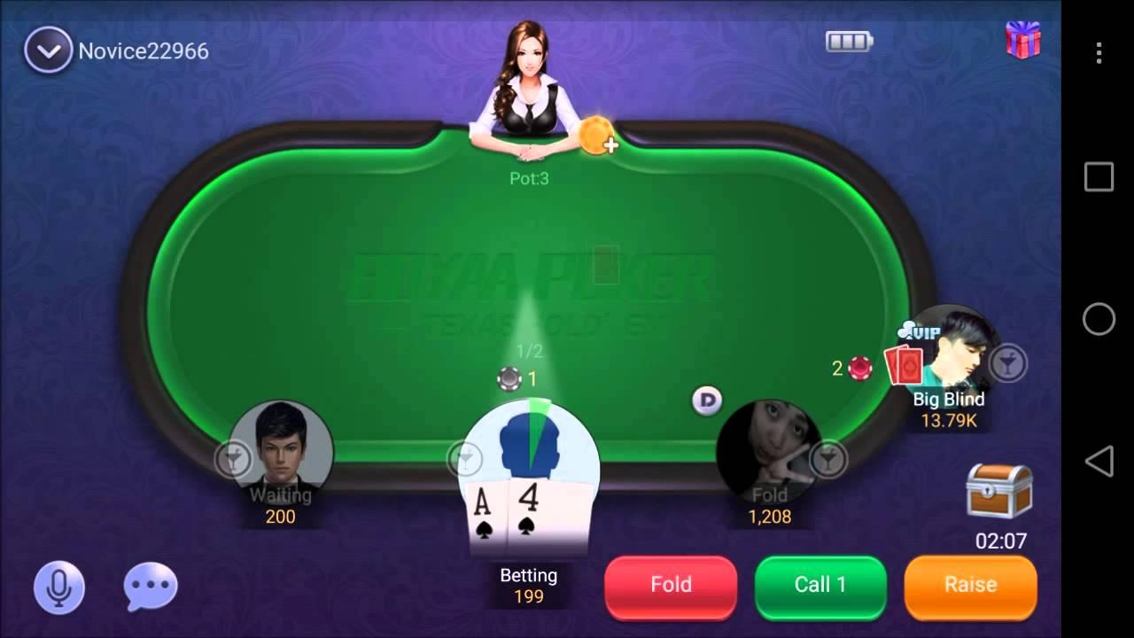 Boyaa Texas Poker – Mobile Game – Gameplay – Poker App – Android – iPhone – Windows