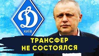 Трансфер вратаря Динамо Киев не состоялся Новости футбола Украины