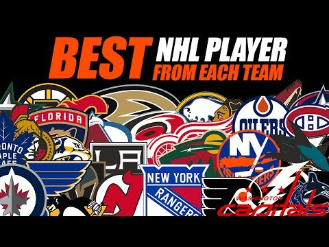 The Best NHL Player From Each Team