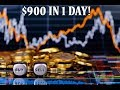 Earning Safe with Bitcoin - How I do Part 2. $900 profit in 1 day