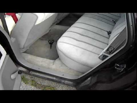 1994 Chevy Caprice Rear Seat Removal Youtube