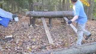Nauceder's Homemade Wood Processing Equipment