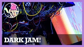 Stumbling in the Dark - Modular Synth Jam & Video Glitch Art #TTNM