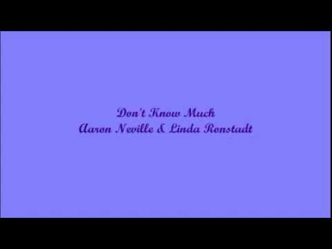 Don't Know Much (No Sé Mucho) - Aaron Neville & Linda Ronstadt (Lyrics - Letra)