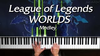 Worlds Medley   League of Legends - Piano Cover 🎹 видео