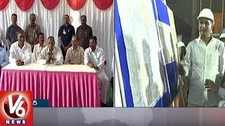 Governor Narasimhan Speech After Inspecting Kaleshwaram Irrigation Project | V6 News