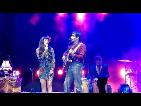 Mon laferte vivo en Quito ft. El David Aguilar