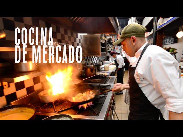 Cocina de mercado, restaurante Donostia / Bogotá Colombia / Blog de viajes