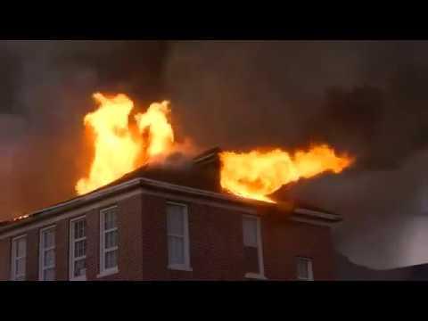 Robert E Lee Elementary School Fire Tampa Sept 12  2017