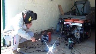 видео Fubag - дизельные однофазные и трехфазные генераторы