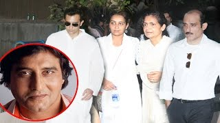 EMOTIONAL Akshaye Khanna & Rahul Khanna With Family At Dad Vinod Khanna