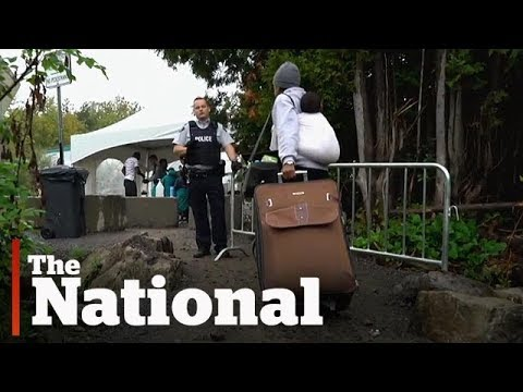 Canada's busiest illegal border crossing