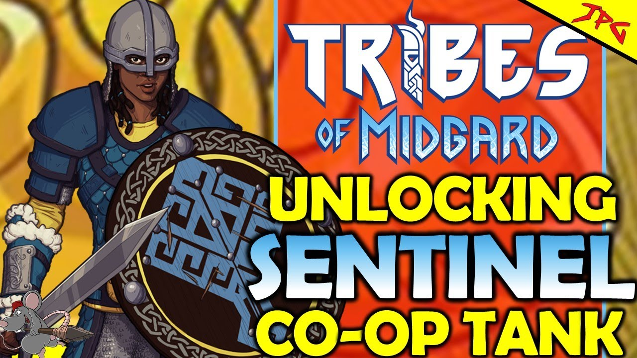 TRIBES OF MIDGARD How To Unlock Sentinal - Best Co-op Support Class? Sentinel Class Guide And Tips