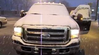Snowy Winter Dealership Cold Starts, Tours, and Updates December 2010 Part 2 of 2
