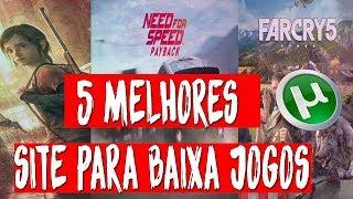 Video 🔴 5 MELHORES SITE PARA BAIXA JOGOS VIA TORRENT (PC, PS2, Xbox 360, Nintendo etc..) download MP3, 3GP, MP4, WEBM, AVI, FLV Oktober 2018