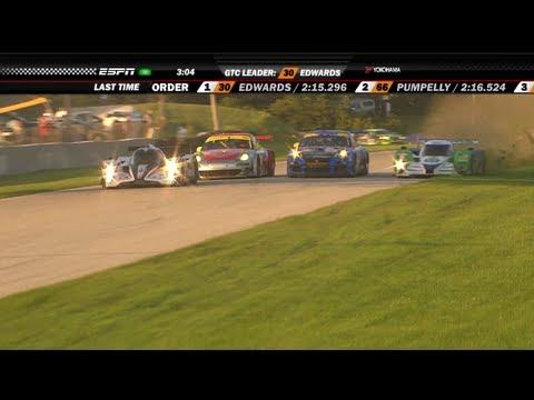 2011 Road America Race Broadcast - ALMS - Tequila Patron - ESPN - Sports Cars - Racing - USCR