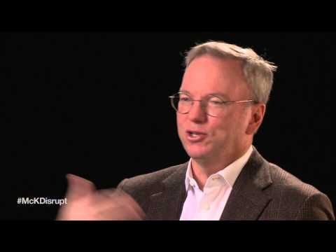 Disruptive technologies with Eric Schmidt: My computer, my friend