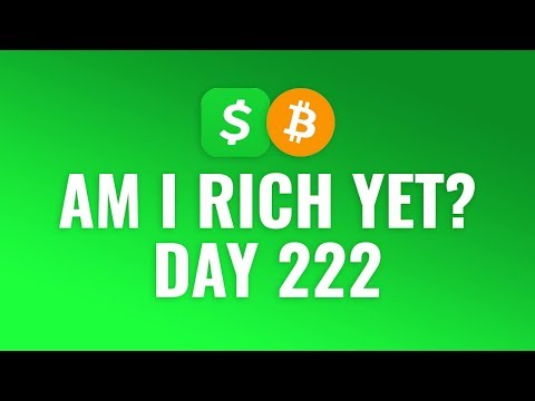 Buying $1 Bitcoin Every Day With Cash App - DAY 222