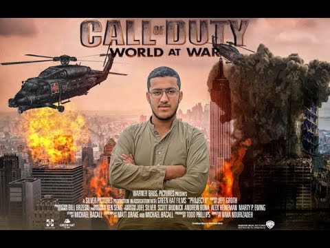 Action Movie Poster Design In Photoshop Call Of Duty Photoshop Minipulation Youtube