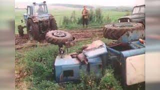 БЕЛАРУСЬ МТЗ 82 Красиво лёг на бок в фильме