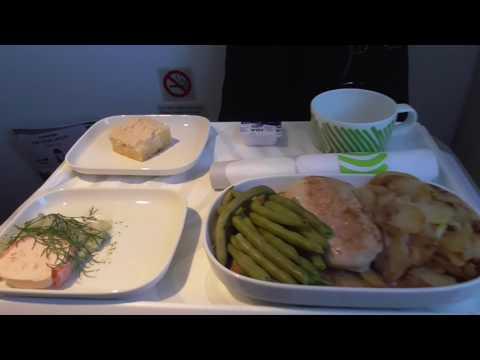 Finnair flight Helsinki-London