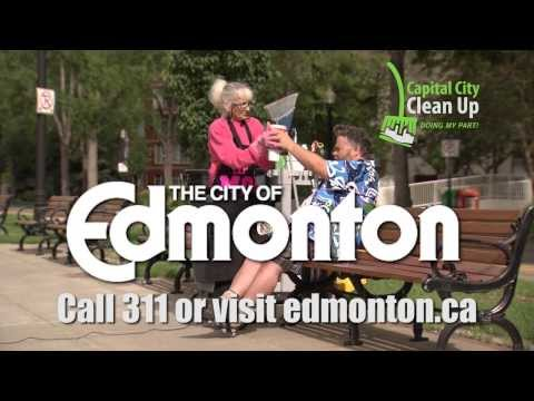 City of Edmonton Capital City Cleanup - Mom